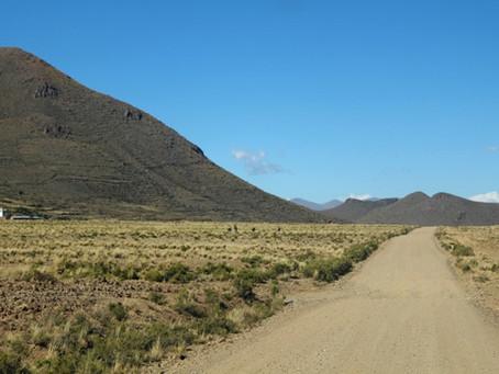 Hankekoordinaattorin kuulumisia Bolivian vuoristosta