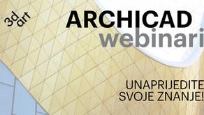 Obavijest o izmjeni termina webinara ARCHICAD: Izrada planova oplate