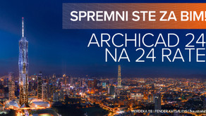 Archicad 24 na 24 rate!