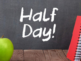 School Planning Day- Half Day for Students- November 12th