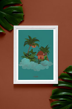 Poster : Dans les nuages