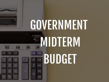 Important Information: Government Midterm Budget Statements