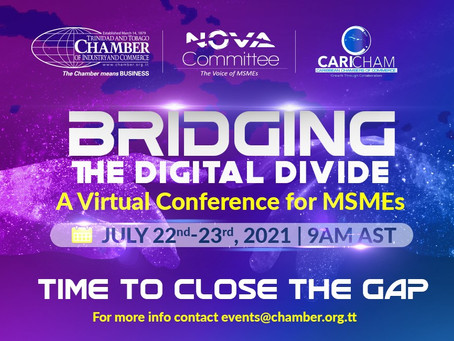 "Event: ""Bridging the Digital Divide"" Conference for MSME's July 22-23, 2021"