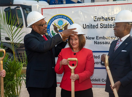BCCEC CEO attends groundbreaking ceremony for new US Embassy location
