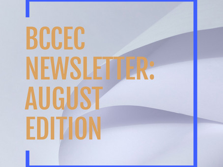 BCCEC Newsletter August 2021