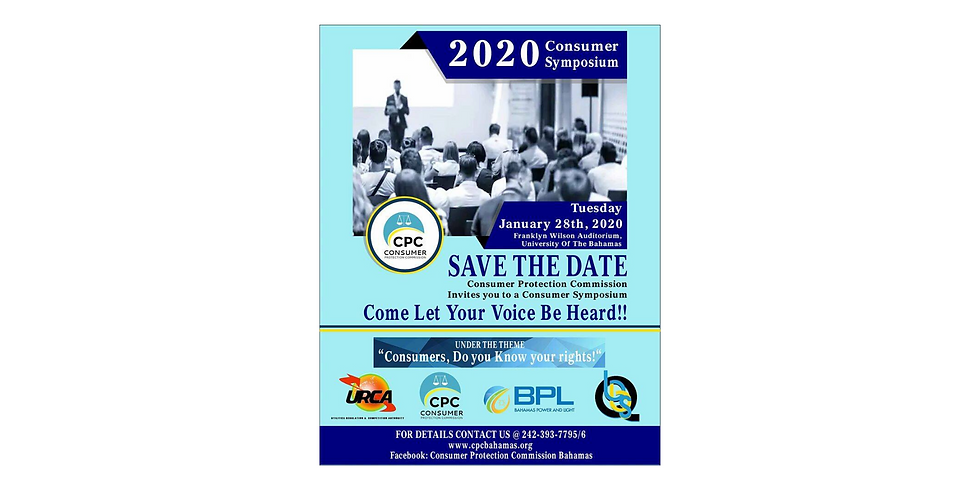 2020 Consumer Symposium hosted by Consumer Protection Commission