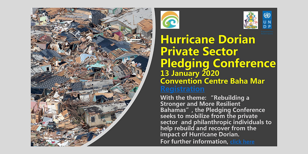 Hurricane Dorian Private Sector Pledging Conference