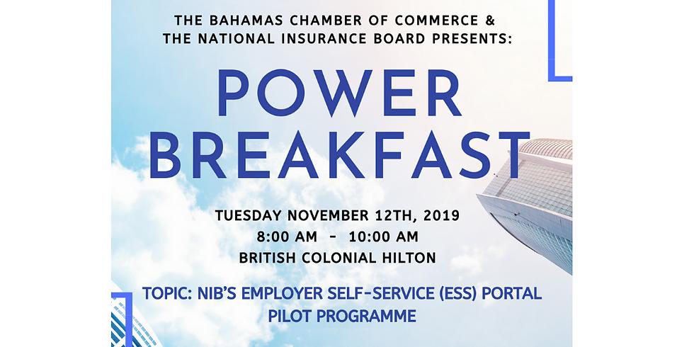 Power Breakfast - BCCEC and NIB