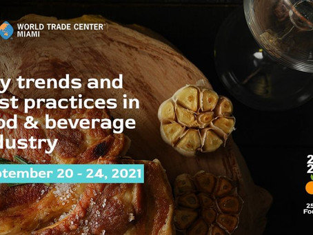 Event: 25th Virtual Americas Food & Beverage Show
