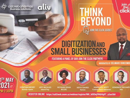 "Event: Think Beyond Webinar - Join the Click series ""Digitization and Small Businesses"""