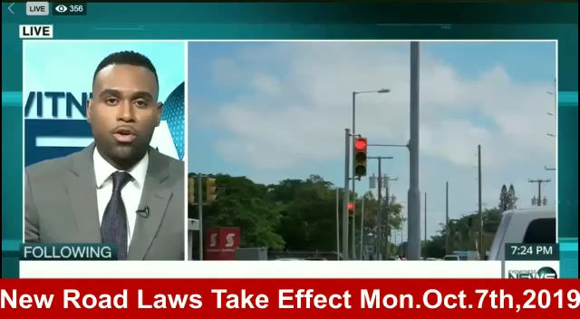 New Road Laws Take Effect Monday, Oct 7th, 2019