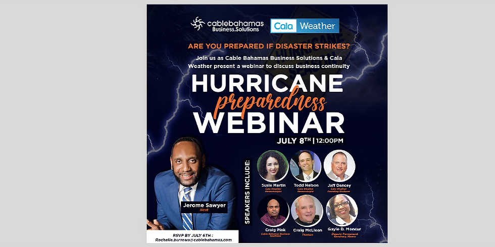 Hurricane Preparedness Webinar