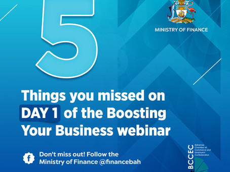 Day 1 Webinar Recap - FIVE THINGS YOU MISSED! BCCEC & MOF Boosting your Business Webinar