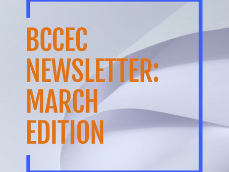 BCCEC Newsletter: March 2021