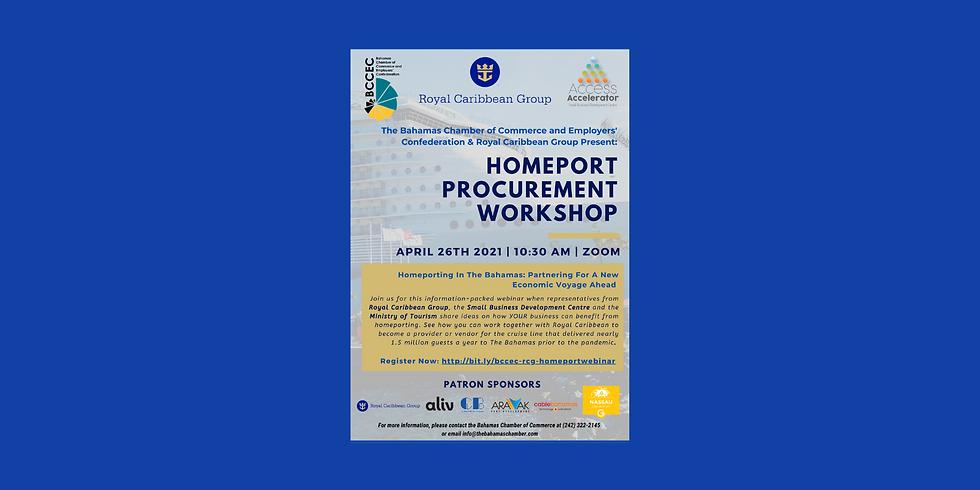 BCCEC & Royal Caribbean Group: Homeport Procurement Workshop