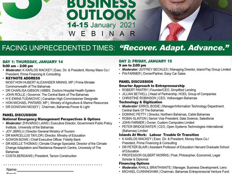 "Event: Bahamas Business Outlook (BBO) - ""Facing Unprecedented Times: Recover, Adjust, Advance"""
