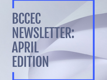 BCCEC Newsletter April 2021