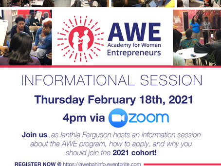 Event: Academy for Women Entrepreneurs Informational Session