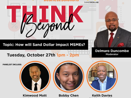 "Patron Sponsor Event: Cable Bahamas Business Solutions ""Think Beyond Series"""