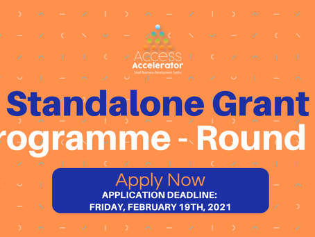 The Standalone Grant Programme: Round III is now open for applications!