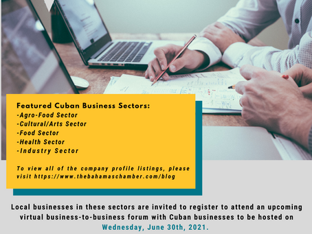 Upcoming Event: BCCEC Business-To-Business Virtual Forum | June 30th, 2021