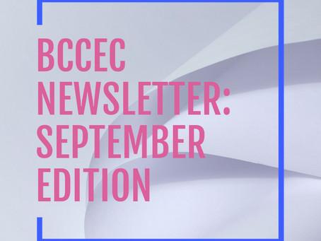 BCCEC Newsletter September 2021