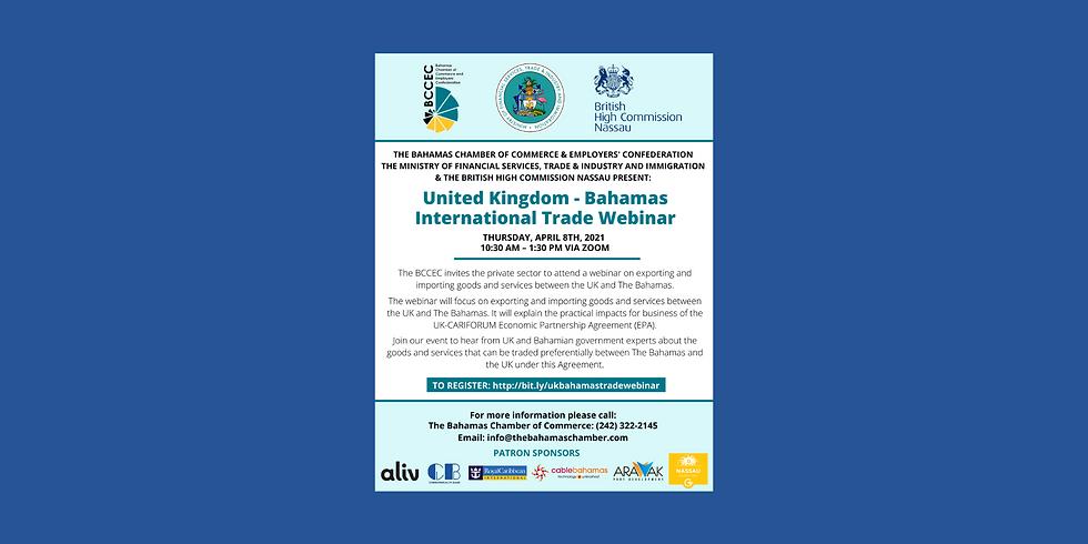 United Kingdom - Bahamas International Trade Webinar