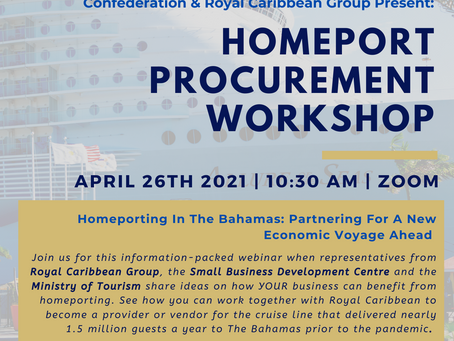Event: BCCEC & Royal Caribbean Group Present: Homeport Procurement Workshop | April 26th 2021
