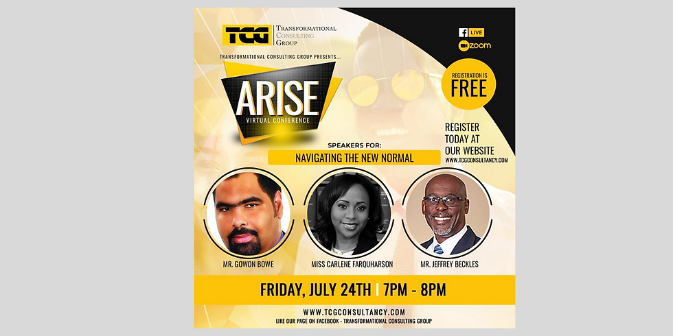 """Arise Virtual Conference: """"Navigating the New Normal"""""""