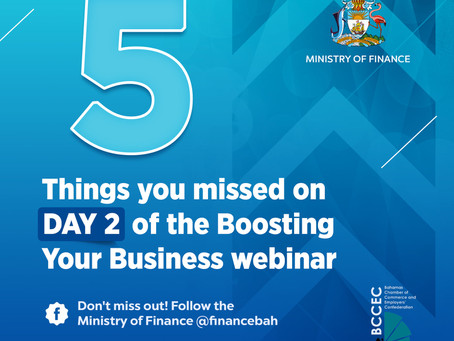 Day 2 Webinar Recap - FIVE THINGS YOU MISSED! BCCEC & MOF Boosting your Business Webinar