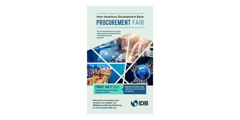 IDB Procurement Fair