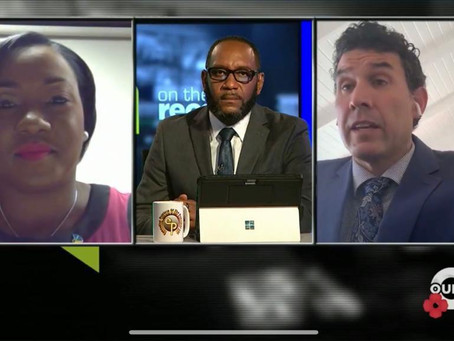 """Watch It Now: BCCEC Chairman appears on """"On The Record with Jerome Sawyer"""""""