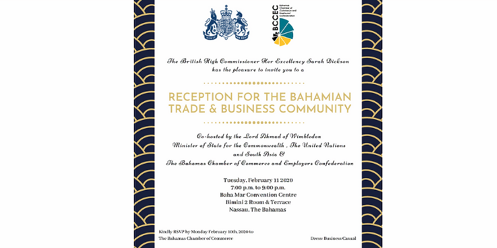 BCCEC & British High Commissioner - Business Networking Reception