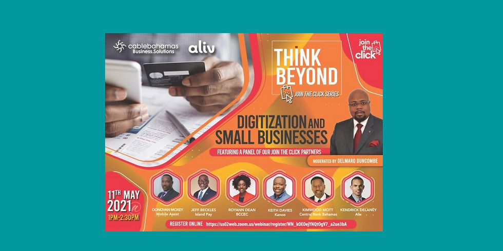 """Think Beyond Webinar - Join the Click series """"Digitization and Small Businesses"""""""