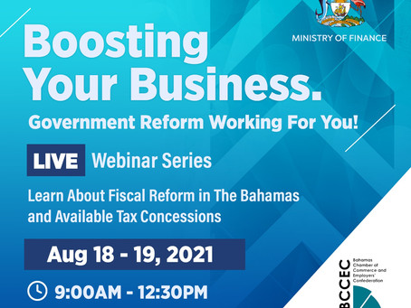 Webinar Series -  Ministry of Finance and the BCCEC Present: Boosting Your Business