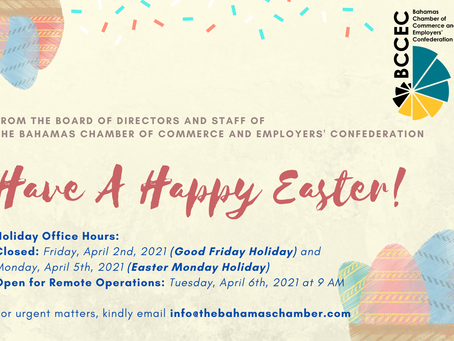 Happy Easter from the BCCEC!
