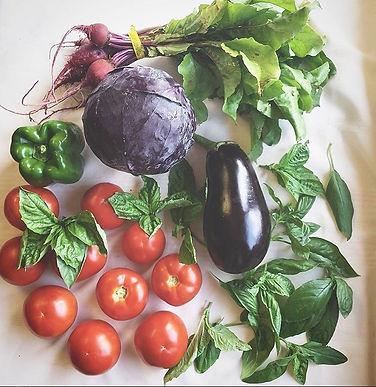Assortment of veggies!