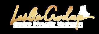 leslie white gold logo.png