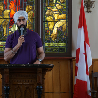 Gurpreet Dhillon, Ward 10 Councillor, brought greetings from the City of Brampton