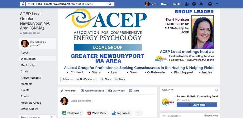 ACEP Local GNMA FB group Screenshot 6.3.