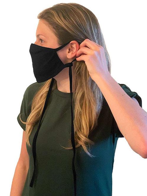 **PAQUET DE -10-** Masques antimicrobien ajustable triple épaisseur 100% coto