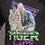 Thumbnail: Coton ouaté avec capuche Tiger King