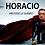 Thumbnail: Coton ouaté avec capuche Horacio notre héros