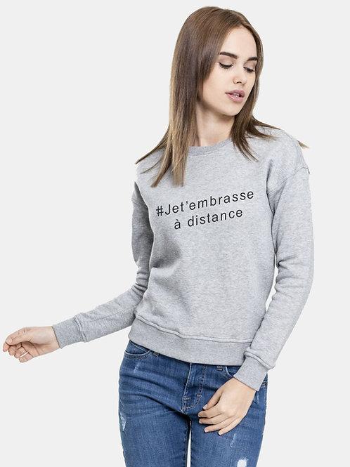 Coton ouaté sans capuche #jetembrasseadistance