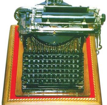 Eine Schreibmaschine für König Chulalongkorn und warum zwei Buchstaben verloren gingen
