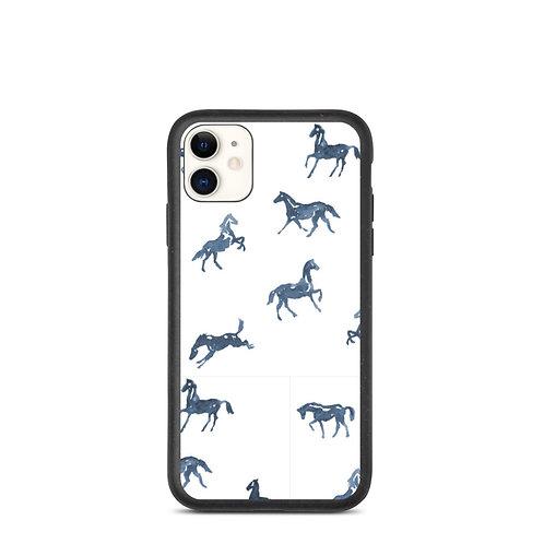 Watercolor Horse Biodegradable Phone Case