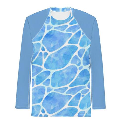 Light Blue Water Rash Guard