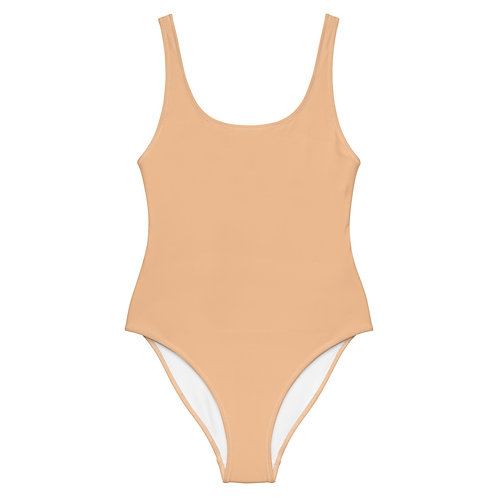 Nude One-Piece Swimsuit