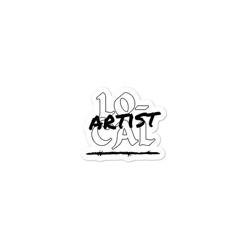 Local Artist Bubble-free stickers