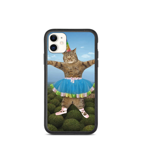 Ballerina Cat Biodegradable Phone Case